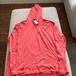 Polo Ralph Lauren jersey knit hoodie